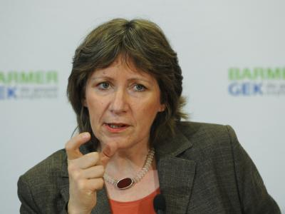 Birgit Fischer, Vorstandschefin der Krankenkasse Barmer-GEK, wird neue Chef-Lobbyistin der Arzneimittelindustrie.
