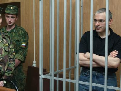 Auch der frühere russische Ölmagnat Michail Chodorkowski ist nach Einschätzung von Amnesty International ein politischer Gefangener.