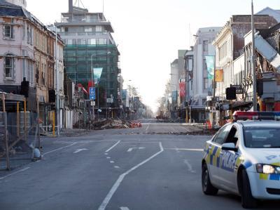 In Christchurch kamen im Februar 2011 mehr als 180 Menschen bei einem massiven Erdbeben ums Leben. Foto: Pam Johnson/ Archiv