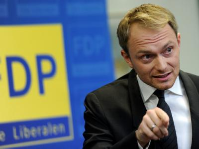 FDP-Spitzenkandidat Christian Lindner