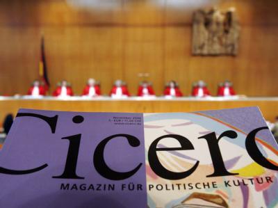 Fall «Cicero» vor Bundesverfassungsgericht