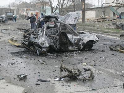 Selbstmordattentat in Nordkaukasus
