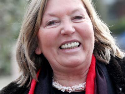 Die Spitzenkandidatin der Linken, Heyenn ist zufrieden mit dem Ergebnis.