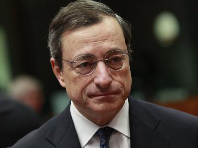Der neue EZB-Chef Mario Draghi sitzt in der Euro-Schuldenkrise an den Schalthebeln. Foto: Olivier Hoslet
