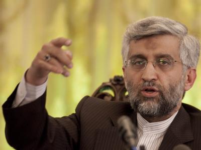 Irans Atomunterhändler Said Dschalili.