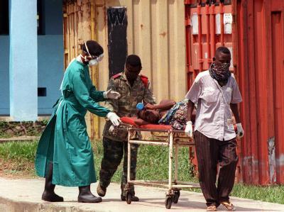 Ebola-Patient