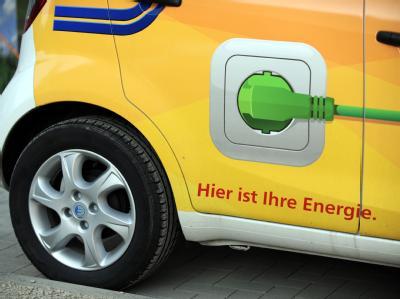 Elektroauto an einer Carsharing-Station