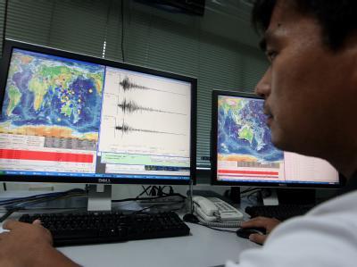 Die Erdstöße des Bebens seien trotzdem noch in der über 200 Kilometer entfernten Hauptstadt Manila zu spüren gewesen. Foto: Rolex Dela Pena