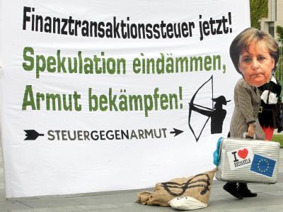 Demo für Finanztransaktionsteuer