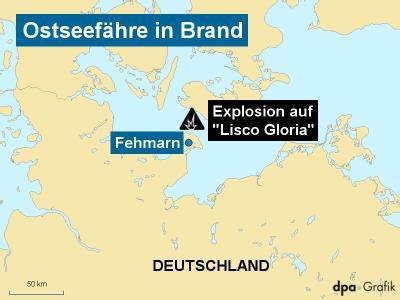 Bei dem Brand auf einer Ostseefähre sind zahlreiche Menschen verletzt worden.