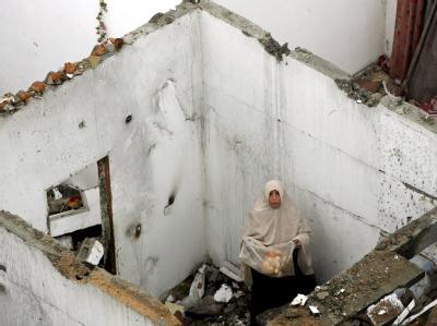 Zerstörung und Leid - durch die israelischen Angriffe wurden viele Palästinenser Obdachlos. (Archivfot vom 30. Dezember 2008)