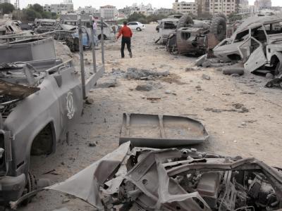 Bereits am Vortag bombardierten israelische Kampfflugzeuge zwei Ziele im Gazastreifen.