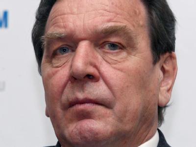 Altkanzler Gerhard Schr�der