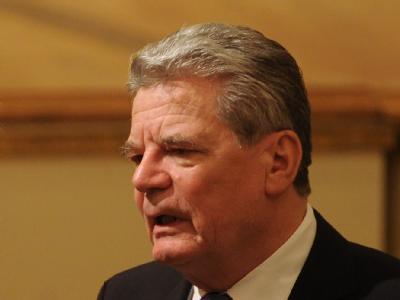 Der designierte Bundespräsident, Joachim Gauck