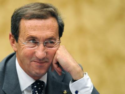 Gianfranco Fini, langjähriger Bündnispartner von Silvio Berlusconi, ist heute der entscheidende Herausforderer des Regierungschefs.