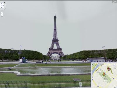 Street View: Eiffelturm