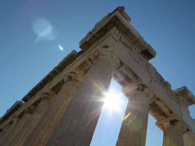 Griechenland wird von Streikenden lahmgelegt. Währenddessen sorgt der umstrittene 'Hebel' für den Euro-Rettungsfonds für Aufregung. Foto: Friso Gentsch