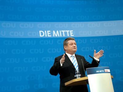 CDU-Generalsekretär Hermann Gröhe setzt auf Schwarz-Gelb. (Archivbild)