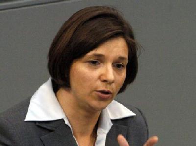 Katrin Göring-Eckardt sitzt seit 1998 im Bundestag.