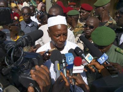 Alpha Conde ist zum Präsidenten Guineas gewählt werden.