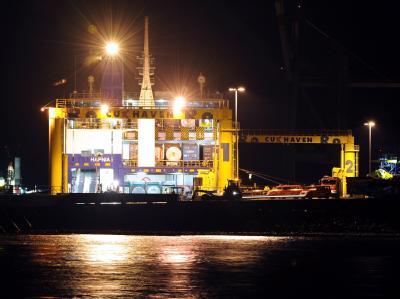 �Hafnia Seaways� in Cuxhaven