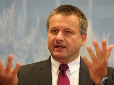 Rülke will sich mit der FDP gegen Kanzlerin Merkel «durchsetzen».