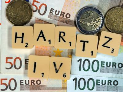 Dauerstreitthema: Hartz IV. Foto: Jens Büttner/Symbolbild