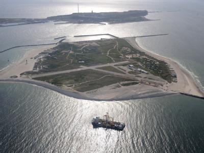 Helgoland aus der Luft