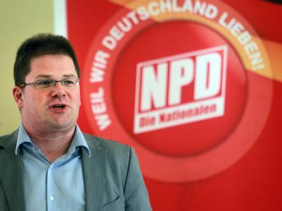 Der sächsische Partei- und Fraktionschef Holger Apfel hat auch die Führung der Bundes-NPD übernommen. Archivfoto: Jens Wolf