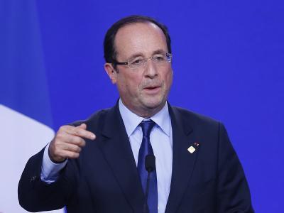 Pr�sident Francois Hollande