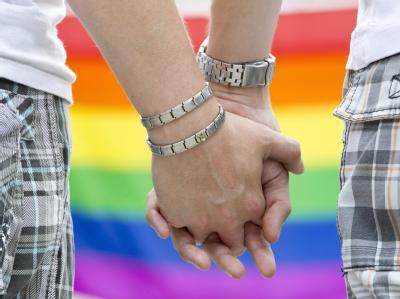 Familienministerin Schröder setzt sich für eine steuerliche Gleichstellung homosexueller Lebenspartnerschaften mit der Ehe ein. Foto: Michael Reichel/ Symbol