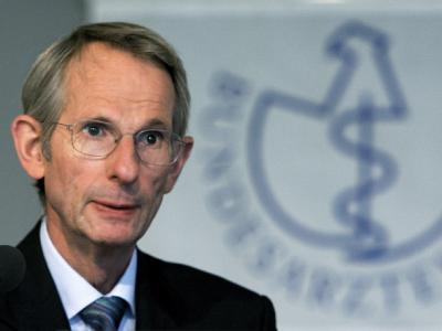 Jörg-Dietrich Hoppe, Präsident der Bundesärztekammer.