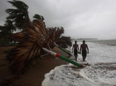 Meteorologen rechnen damit, dass «Nate» sich zu einem Hurrikan verstärken wird. (Archiv- und Symbolbild)