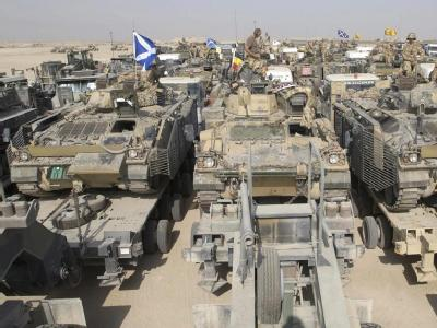 Britisches Militär
