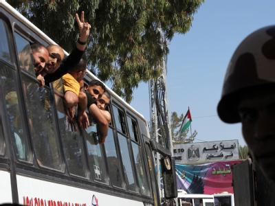 Am 18. Oktober hatte Israel den Soldaten Schalit in einem ersten Schritt gegen 477 palästinensische Häftlinge ausgetauscht. Foto: Khaled Elfiqi/ Archiv