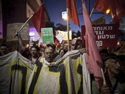 Sozial-Protest in Israel