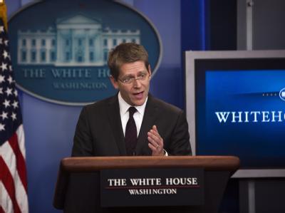 Der US-Regierungssprecher Jay Carney hat Sanktionen gegen Libyen angekündigt.