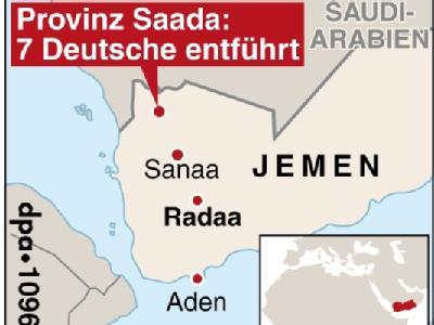 Deutsche im Jemen entführt