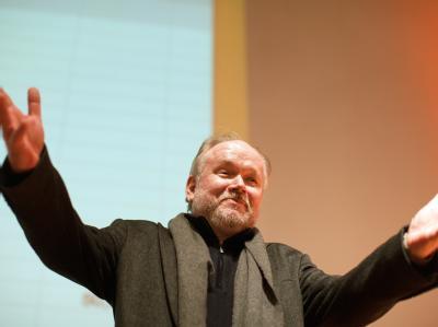 Joachim Paul, Spitzenkandidat der Piratenpartei für die Nordrhein-Westfalen-Wahl, will für seine Arbeit bezahlt werden. Foto: Rolf Vennenbernd