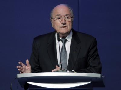FIFA-Chef Joseph Blatter ist über die Boykott-Aufrufe verärgert. Foto: Tolga Bozoglu/Archiv