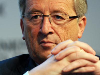 Der luxemburgische Premierminister und Vorsitzende der Eurogruppe, Jean-Claude Juncker.