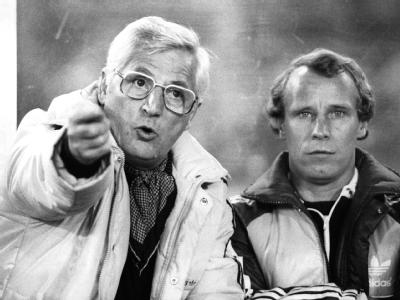 Jupp Derwall & Berti Vogts 1981