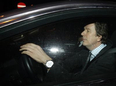 Jörg Kachelmann nach der Befragung einer Schweizer Zeugin durch das Gericht in Zürich. (Archivbild vom 15.2.2011)
