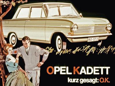 1899 rollte der erste Opel in Rüsselsheim vom Band. Der Kadett wurde in den 1960ern zum Erfolgsmodell.