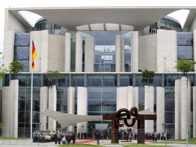 Ort des Geschehens: Die Koalition berät über ihre Streit-Themen im Bundeskanzleramt.