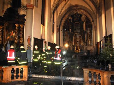 Feuerwehreinsätze an Silvester