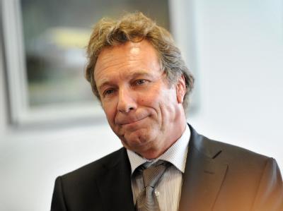 Linksparteichef Klaus Ernst steht in der Kritik.