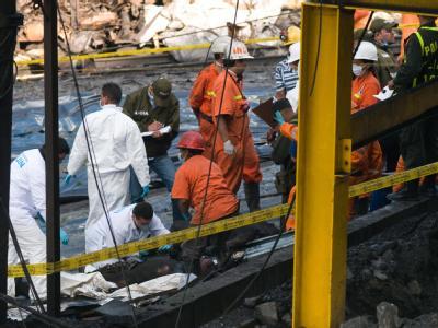 Grubenungl�ck in Kolumbien