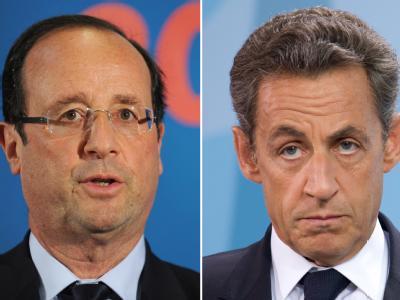 Sarkozy und Hollande