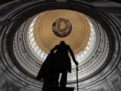 Die Kuppel des Kapitols nWashington